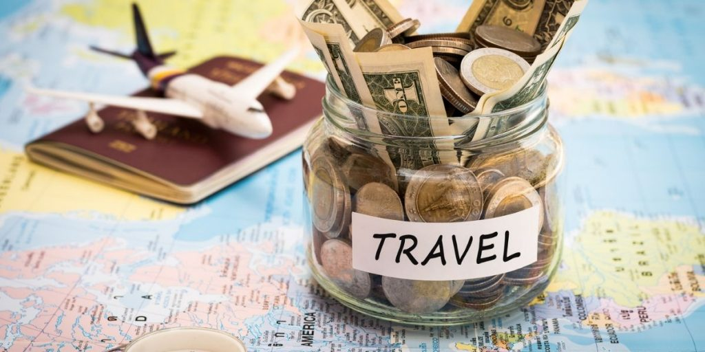 travel money jar