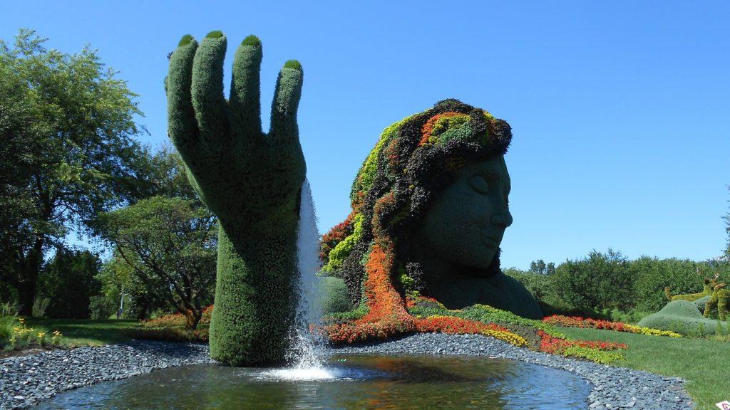 Jardin Botanique in Montreal