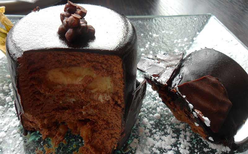 Image of chocolate cake